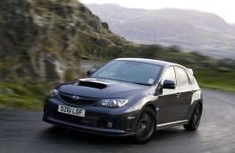 Subaru Impreza Cosworth, front