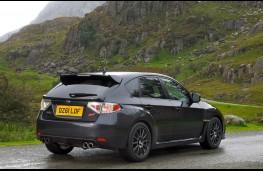 Subaru Impreza Cosworth, rear