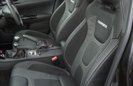 Subaru Impreza Cosworth, seats