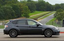Subaru Impreza Cosworth, side
