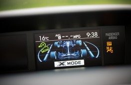 Subaru Forester, 2016, X-Mode display