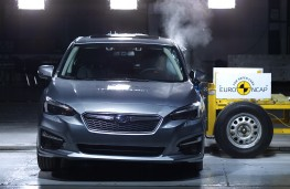 Subaru Impreza, 2017, crash test
