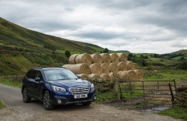 Subaru Outback, 2016, front