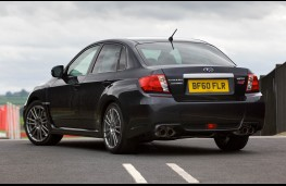 Subaru WRX STI, rear