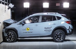 Subaru XV, 2017, crash test