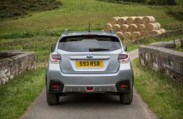 Subaru XV, 2016, rear