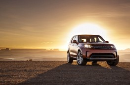 Land Rover Discovery, 2017, front, sun