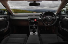 Skoda Superb, interior