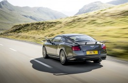 Bentley Continental Supersports, 2017, rear