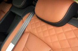 SsangYong Rexton, 2017, quilted leather upholstery