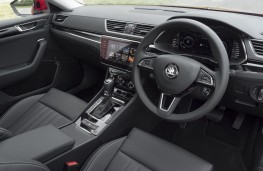 Skoda Superb, 2019, interior