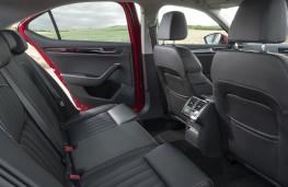 Skoda Superb, 2019, rear seats