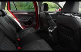 Skoda Superb Estate 4x4, rear seats