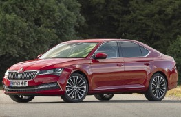 Skoda Superb, 2019, side