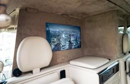 Sutton VIP LEVC Taxi, 2021, rear screen
