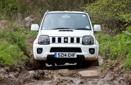 Suzuki Jimny, off-road, mud
