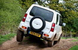 Suzuki Jimny, off-road, rear
