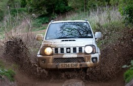 Suzuki Jimny, off-road, splash