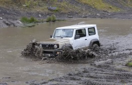 Suzuki Jimny Commercial, 2021, off road, front