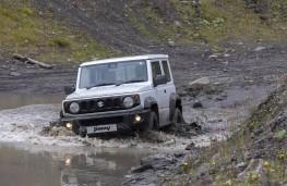 Suzuki Jimny Commercial, 2021, off road, mud