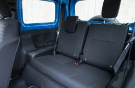 Suzuki Jimny, rear seats