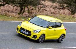 Suzuki Swift Sport, front action