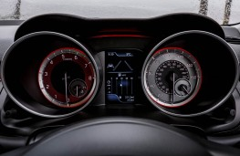 Suzuki Swift Sport, dash detail
