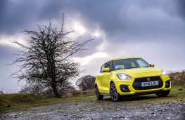 Suzuki Swift Sport, front static