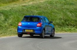 Suzuki Swift 1.2 Dualjet Attitude, rear action