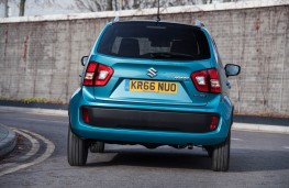 Suzuki Ignis, rear action