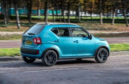 Suzuki Ignis, side action