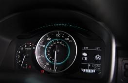 Suzuki Ignis, speedometer