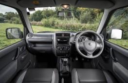 Suzuki Jimny, dashboard
