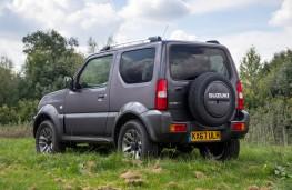 Suzuki Jimny, rear static
