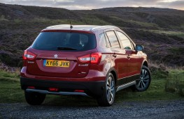 Suzuki S-Cross, rear static
