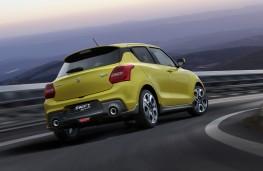 Suzuki Swidt Sport rear action