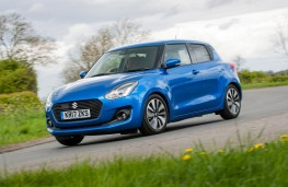 Suzuki Swift, action front 2