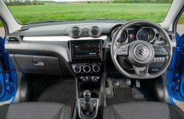 Suzuki Swift, dashboard