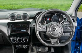 Suzuki Swift, 2017, dashboard