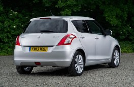 Suzuki Swift 2013 rear