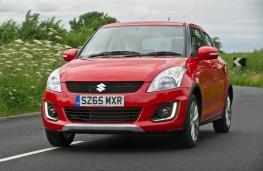 Suzuki Swift 4x4, front action