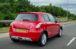 Suzuki Swift 4x4, rear action