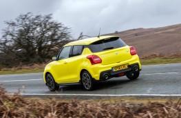Suzuki Swift Sport, rear action