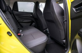 Suzuki Swift Sport, rear seats