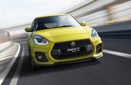 Suzuki Swift Sport head-on