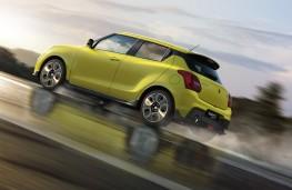 Suzuki Swift Sport low level action
