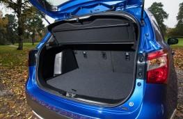 Suzuki SX4, boot