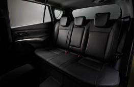 Suzuki SX4, rear seats