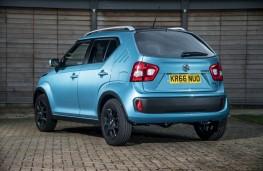 Suzuki Ignis, rear quarter