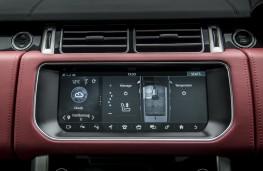 Range Rover SVAutobiography, 2017, display screen